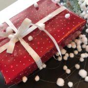 vánoční balení zlatnických dárků