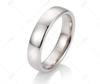 Snubní prsteny řady Fulvia s hladkým provedením povrchu