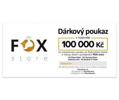 Dárkový poukaz 100 000 Kč