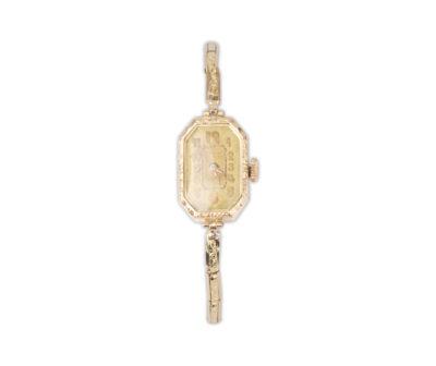 Starožitné šperkové náramkové hodinky