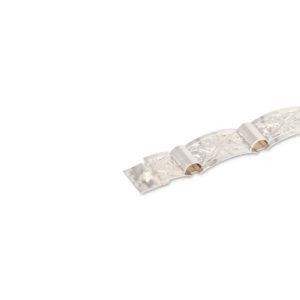 Starožitný stříbrný náramek