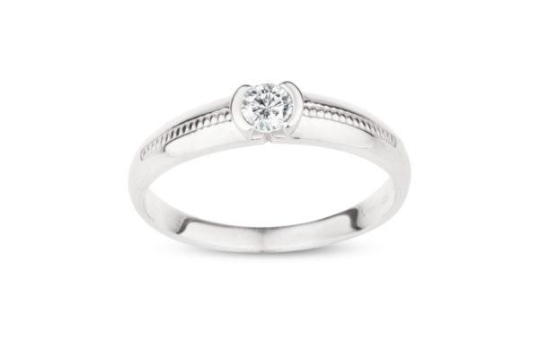 Originální zásnubní prsten značky FOX10