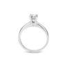 Zásnubní prsten z bílého zlata a diamantem FOX 17 (3)